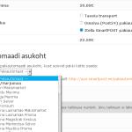 Itella SmartPOST plugin WooCommerce'ile