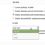 Itella SmartKULLER plugin WooCommerce'ile